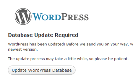 update-wordpress-database