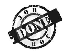 DONE – when done means DONE